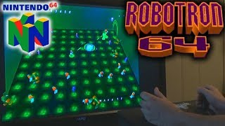 Robotron 64 (N64) with Twin Arcade Sticks in Project 64