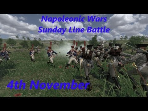 Napoleonic Wars Line Battle - Sunday 4th November - 77y Regiment