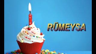 Bugün senin doğum günün RÜMEYSA - Sana özel doğum günü şarkın