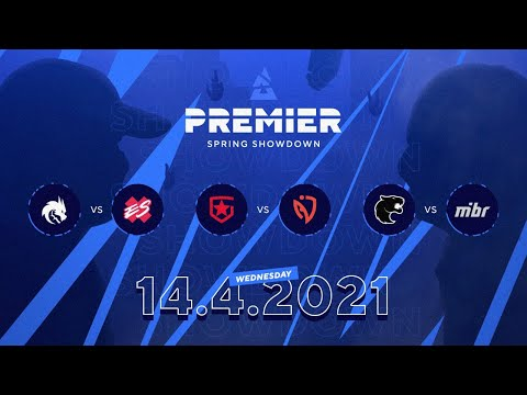 Blast Premier YouTube - Spirit vs Extra Salt, Gambit vs NASR