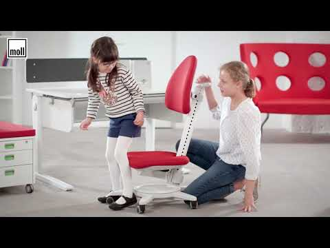 How To Correctly Adjust An Ergonomic Kids Chair - Moll Maximo