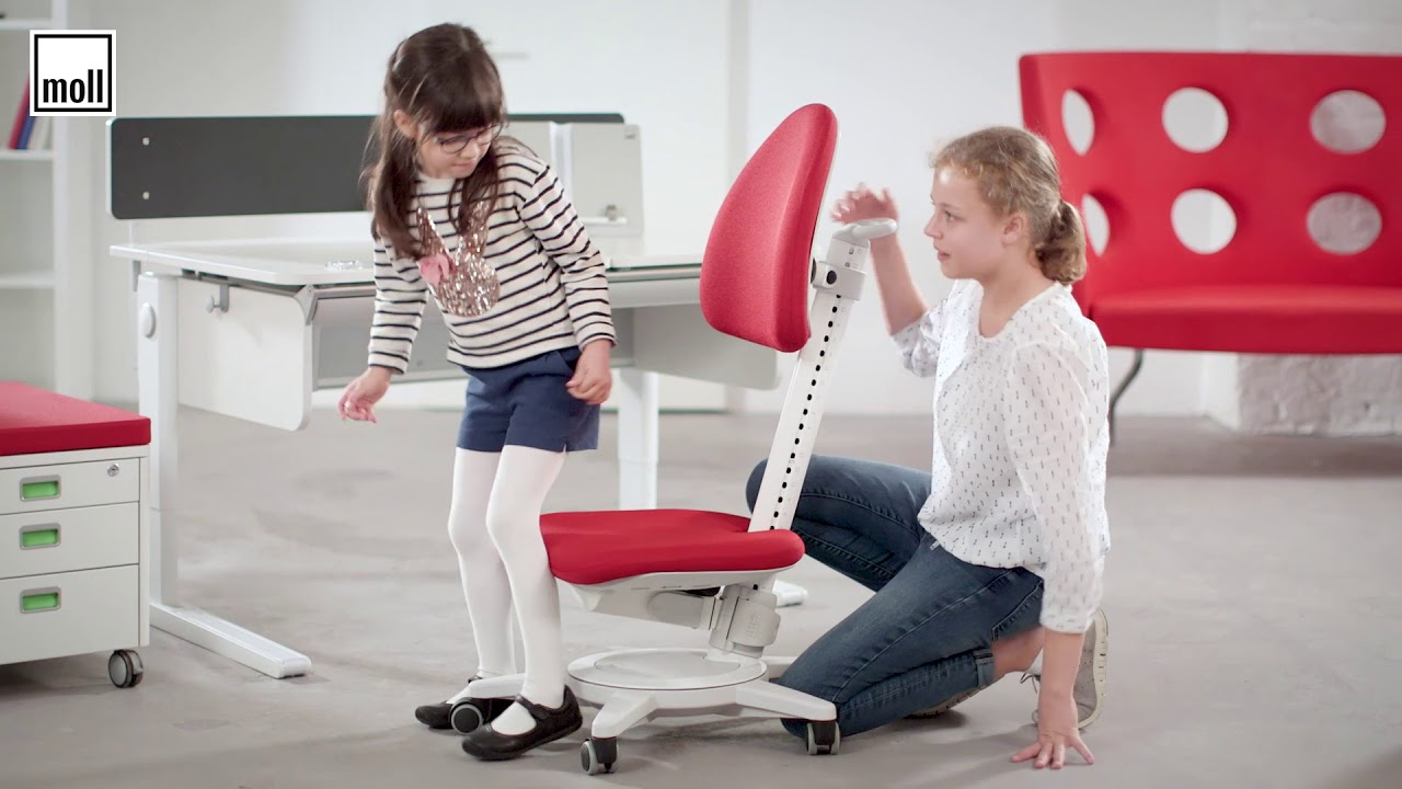How To Correctly Adjust Moll Maximo Ergonomic Kids Chair