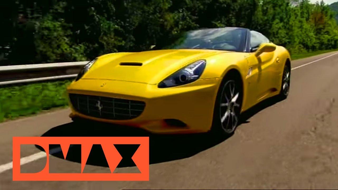 Ferrari California im Test   Fifth Gear   DMAX Deutschland ...