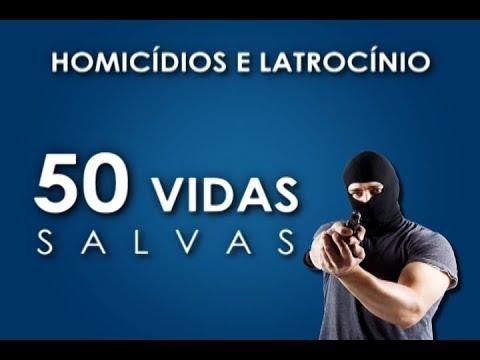 NÚMERO DE HOMICÍDIOS, LATROCÍNIOS E ROUBOS DIMINUI NO ESTADO DE SP