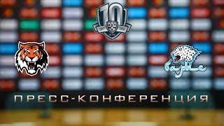 09.01.2018 / Amur - Barys / Press Conference
