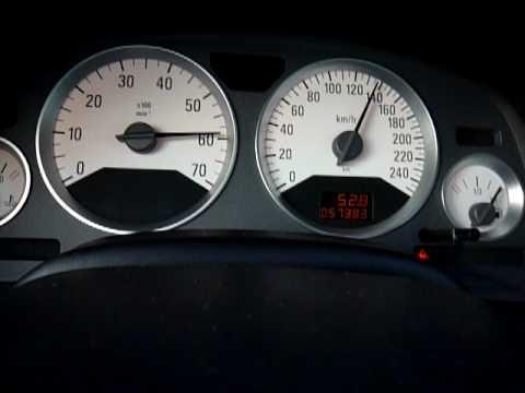 opel astra bertone coupe turbo 192hp 80 130km h avec voyant code defaut feux youtube