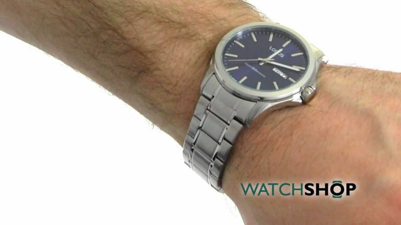 Men's Lorus Watch (RXN65CX9) - YouTube