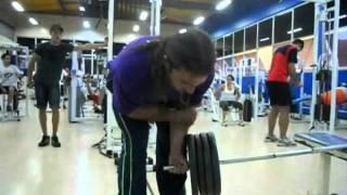 Тренеровка сильнейшего бразильского армспортсмена