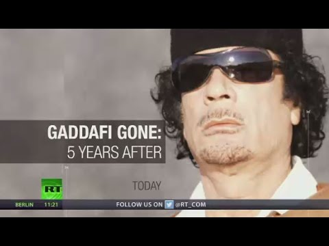 No sign of liberty tree growing: 5 years of Gaddafi