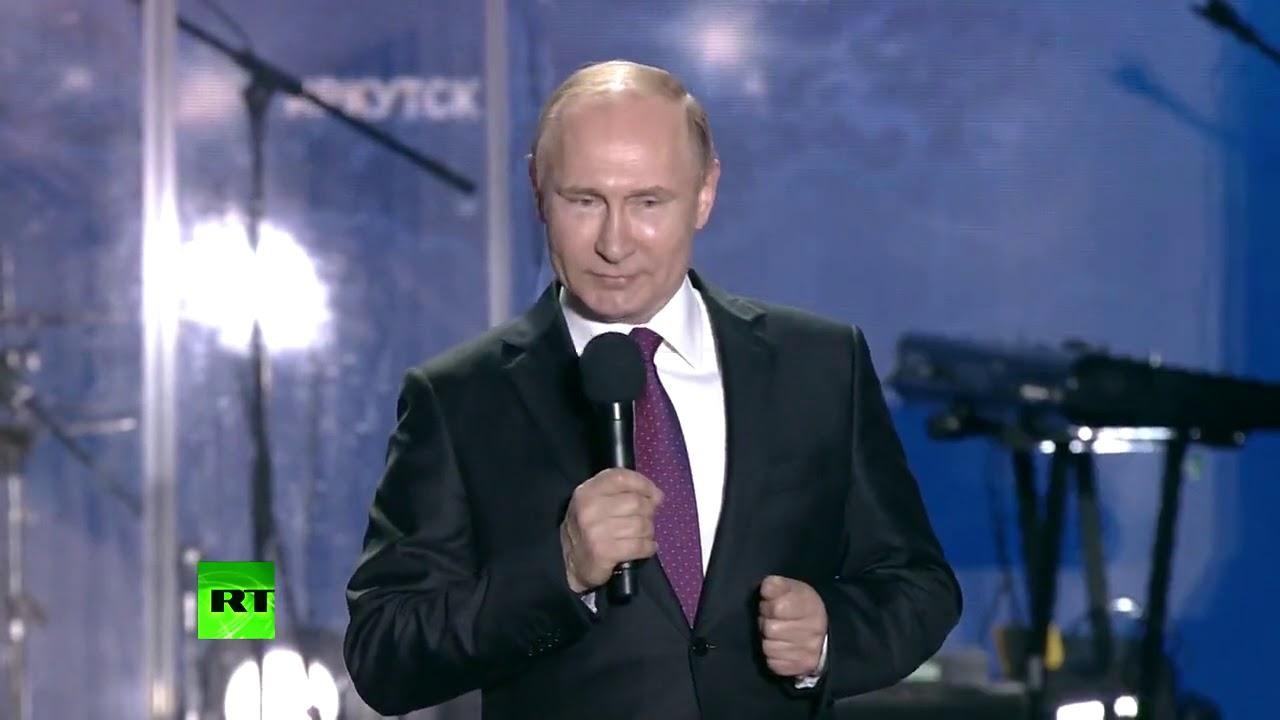 Путин прочитал стихотворение к 8 Марта Общество Россия