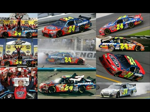 All 6 of Jeff Gordon's Wins in 2007 (Finishes) Jeff Gordon E