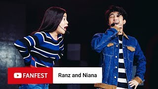 Ranz and Niana @ YouTube FanFest Bangkok 2018