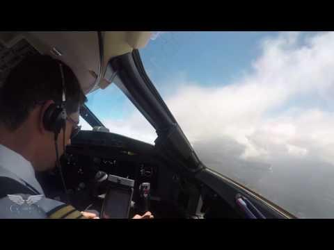 Landing in Sydney, Australia - Global Express