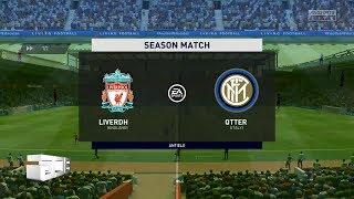 FIFA 20 Liverpool FC vs Inter Milan Online Seasons Match