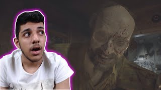 الهروب من الشاايب المجنوون..!!! يا بثر يا بثثثثرررر..!! | Resident Evil 7