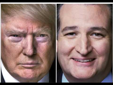 Ted Cruz endorses Donald Trump who leads Clinton in latest poll.