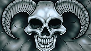 How to draw demon skull for beginners: impress your friends!!