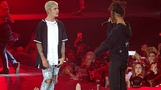 Justin Bieber feat. Jaden Smith -  Never Say Never LIVE AT MADISON SQUARE GARDEN (July, 19)