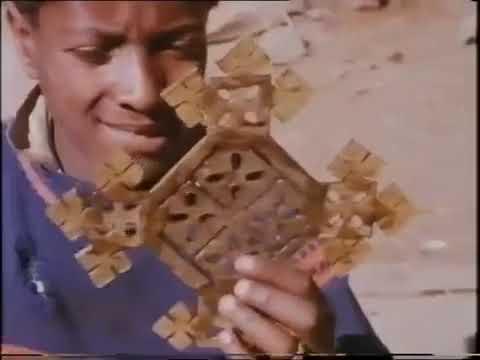 Ethiopian cross design and making process
