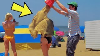 5 Funny Beach Pranks & Summer Fails
