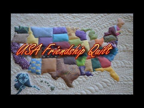 USA Friendship Map  - Lesson 1