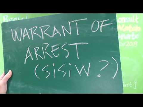 Handling Warrant of Arrest BIR Taxation (Sisiw?)
