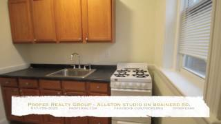 Allston Apartment - Studio, renovated, heated, laundry in building | Proper Realty Group
