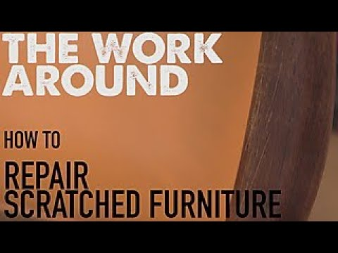 How to Repair Scratched Furniture - The Work Around - HGTV