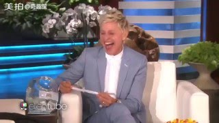 Funny&Dirty movement in  Ellen show (Justin bieber, Rihanna,Adele,Johnny Deep .....)