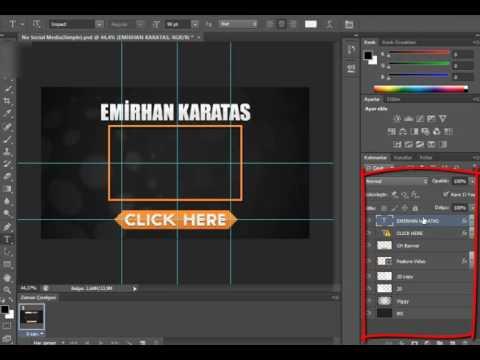 Adobe Photoshop Cs6 Hazır Outro Yapımı👓