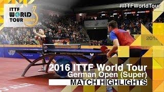 German Open 2016 Highlights: MA Long vs SAMSONOV Vladimir (Final)(This video was created by ttlondon2012 exclusively for the ITTF Review all the highlights from the MA Long vs SAMSONOV Vladimir (Final) from the German ..., 2016-01-31T17:01:38.000Z)