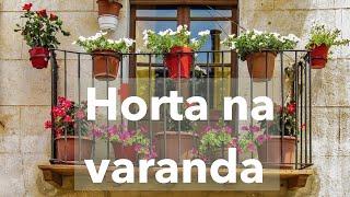 10 Dicas para Começar uma Horta ou Jardim na Varanda