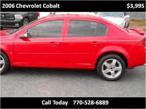 2006 Chevrolet Cobalt Used Cars Marietta Atlanta GA