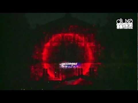 """3D-Video-Mapping """"Nacht der Kultur"""""""