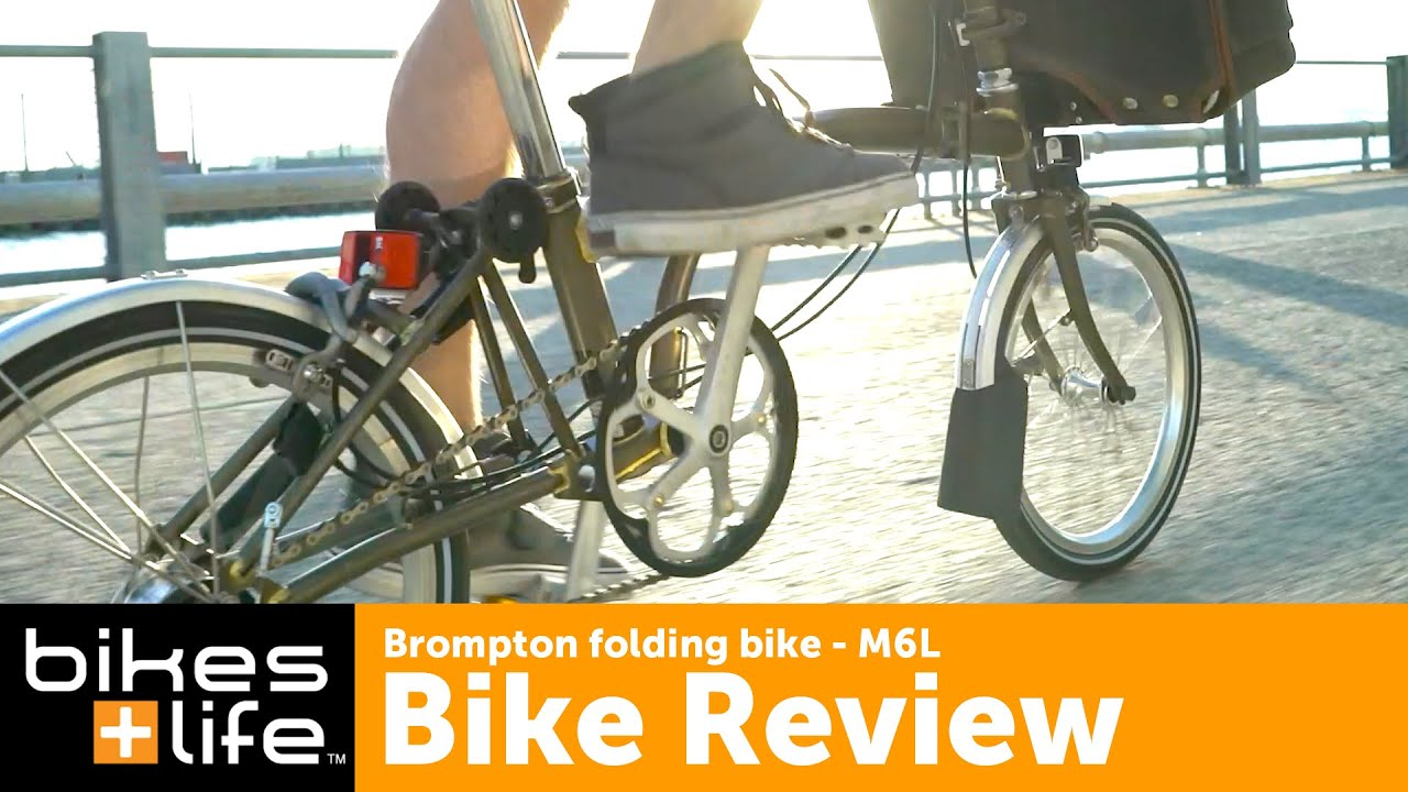 Brompton Bikes Brompton Folding Bike Video Review