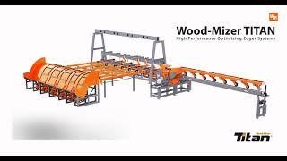 Wood-Mizer TITAN Optimising Edger - EA3000