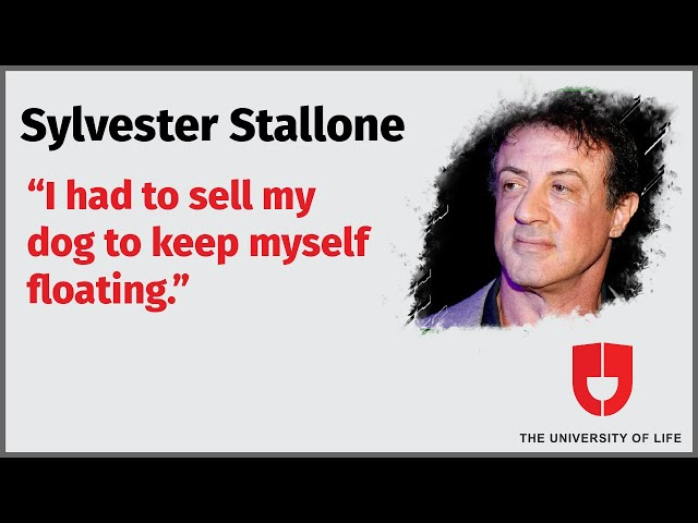 Sylvester Stallone Views On Living A Good Life | The University Of Life