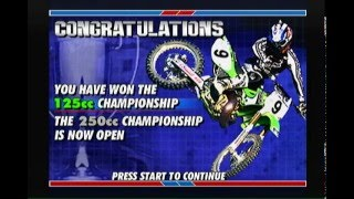 Championship Motocross Ricky Carmichael PlayStation 1 PS1