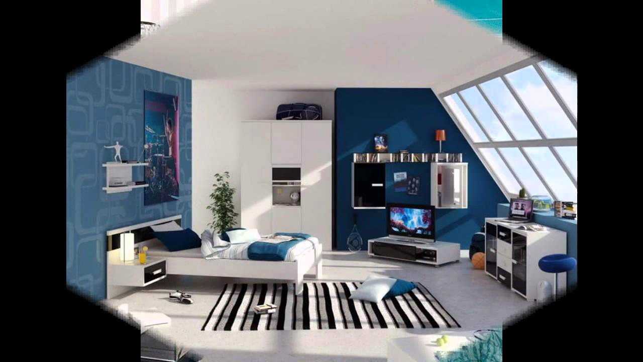 romantic blue bedroom decorating ideas - youtube