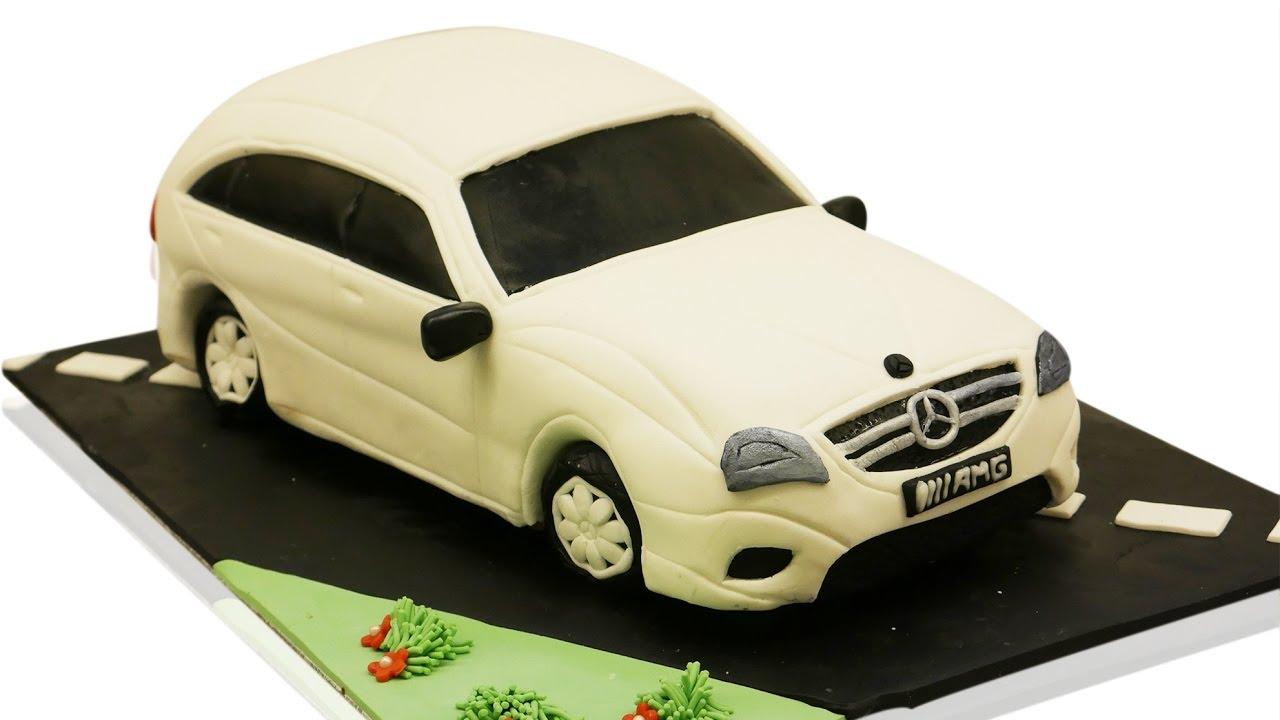 Mein neuer 3D Auto Torten Kurs ist da  Car Cake  3D Torte I Einfach Backen  Marcel Paa  YouTube