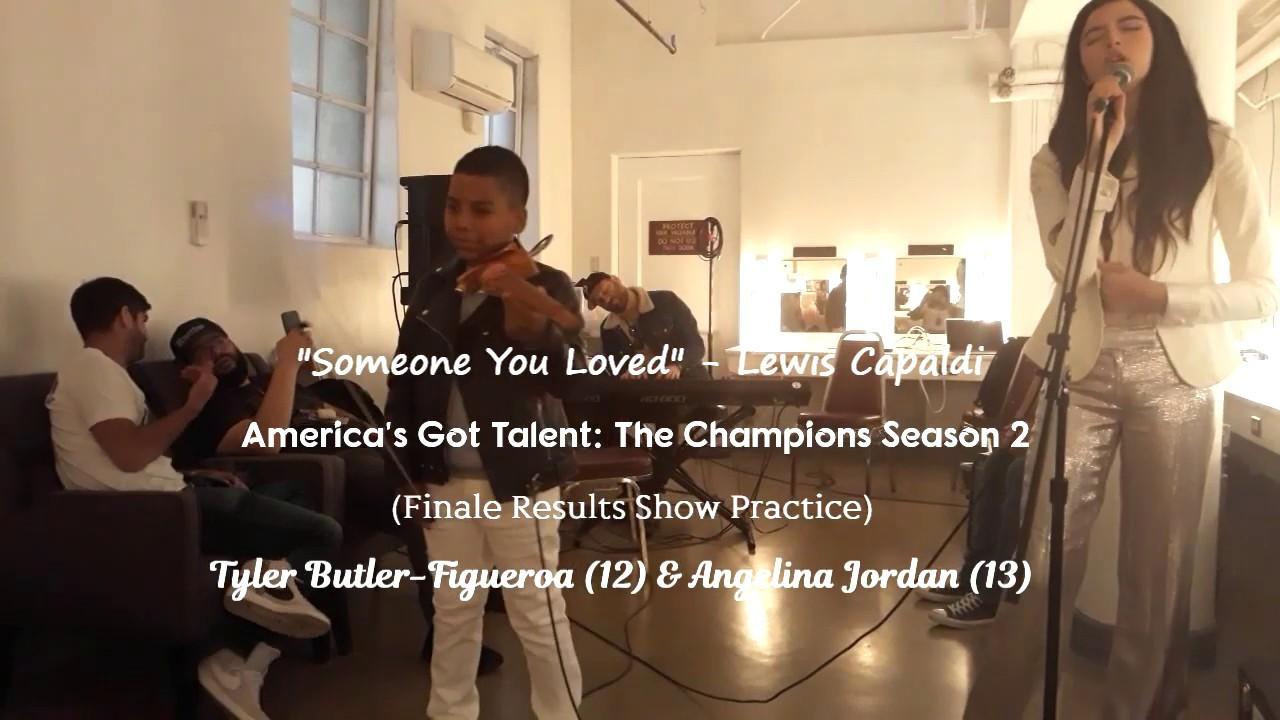 Download Someone You Loved -Lewis Capaldi- #AGTChampions S2 - Tyler Butler-Figueroa Violinist Angelina Jordan