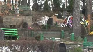 На кладбище Даугавпилса творится нечто ужасное