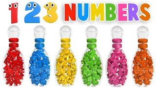 Learn Numbers with Bowling Game - Numbers Videos Collection for Children