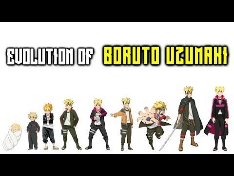 Evolution of Boruto Uzumaki