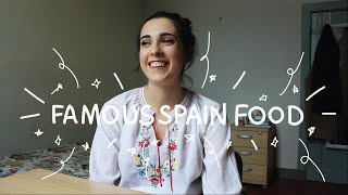 Weekly Spain Spanish Words with Rosa - Famous Spain Food