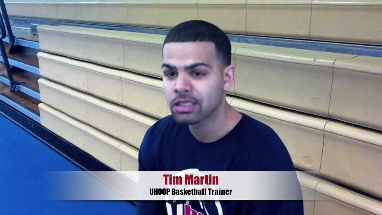 Josh Howard & Devin Harris training with Tim Martin from UHoop