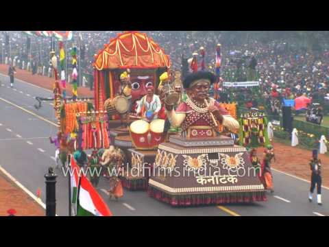 Indian microcosm on display: Republic Day 2017: cultural vignettes - Part 2