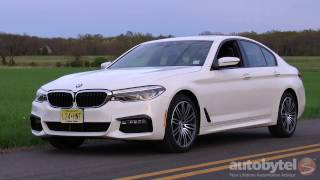2017 BMW 540i xDrive Test Drive Video Review