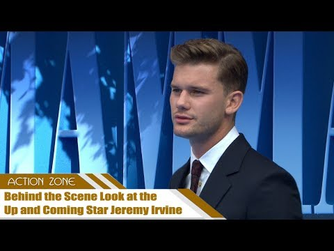 Behind the  Look at the Up and Coming Star Jeremy Irvine