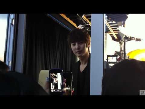 111109 Mnet Wide - Kim Hyung Jun & Little Fan